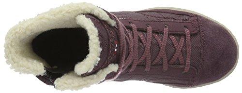 Viking Unisex-Kinder Zip High-Top Violett (Aubergine/Antique Rose 8353)