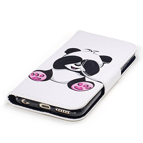 Aeeque Cover Iphone 6s Pelle Pu Portafoglio Sfondo Bianco Custodia