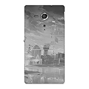 Neo World Monochrome Art Back Case Cover for Sony Xperia SP