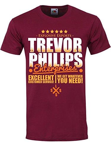 Trevor Philips Unternehmen Männer T-Shirt rot - Unternehmen T-shirts
