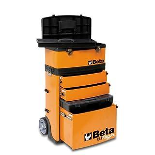 Beta 41000002 Werkzeug-Trolley, C41H mit zwei stapelbaren Modulen