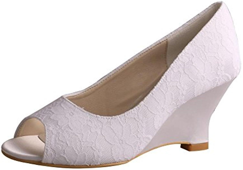 Mr.   Ms. Wedopus - Peep-Toe Donna Donna Donna Aspetto estetico Vinci molto apprezzato valore | Prodotti Di Qualità  | Maschio/Ragazze Scarpa  a95992