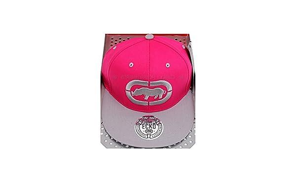 cd2cc9302cd Ecko Unltd 3D Rhino Logo Flat Peak Baseball Snapback Cap  Amazon.co.uk   Clothing