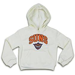 Phoenix Suns NBA Girls sudadera con capucha para hombre, hombre, crema, M