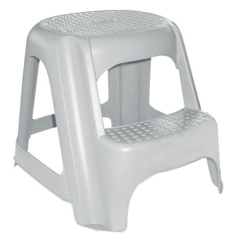 CURVER Zwei Schritt Stuhl grauen Granit Plastik Grey 1.1000000000000001 x 1.1000000000000001 cm