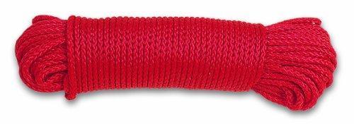 Chapuis FDC3 Corde polypropylène tressée 100 kg D 2,8 mm L 20 m Rouge