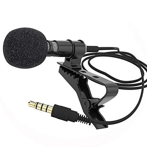 WJDASM Mikrofon 2/1 STÜCKE Handy Krawatte Kragen Clip Für Sprechen Rede Mikrofon Revers Mikrofon, 1 stücke