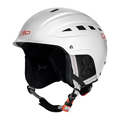 CMP XA-1 Ski Helmet, Casco da Sci Unisex Adulto, Bianco, M