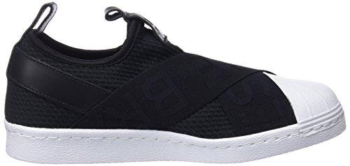 adidas Superstar Slipon W, Scarpe da Ginnastica Basse Donna Nero (Core Black/core Black/footwear White 0)