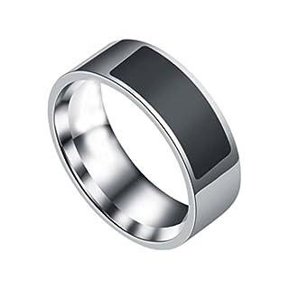Amcool NFC wasserdichte multifunktionale intelligente Ring Smart Watch Finger Digital Ring (7)