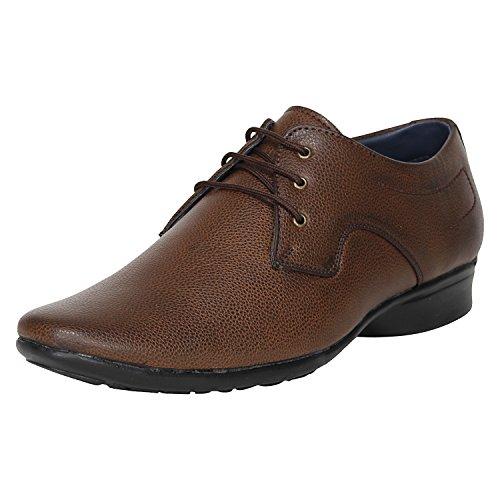 Kraasa 1043 Formal shoes Brown UK 7