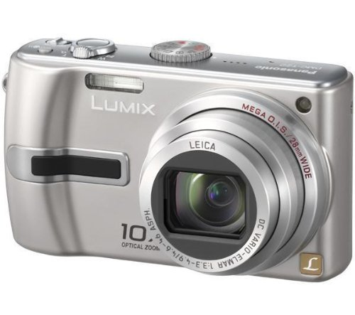 Panasonic DMC-TZ2EB-S Digitalkamera (6 Megapixel; 10fach opt. Zoom) in silber Panasonic Sd-viewer