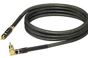 Real Cable SUB1801/3M00 Câble Audio pour Caisson de basse 3 m