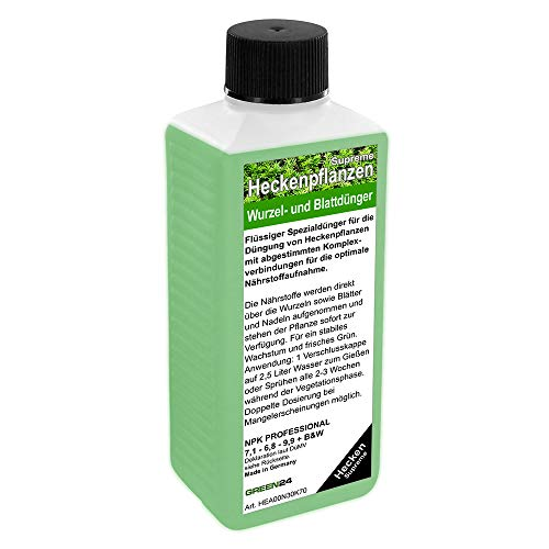 GREEN24 Heckenpflanzen Dünger Supreme HIGHTECH für Laubhecken und Immergrüne Hecken