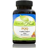 |PQQ (Pyrroloquinoline Quinone) || Cognitive Enhancer || Supports Heart Health || 30 Capsules 20mg Per (Cognitive Enhancer)