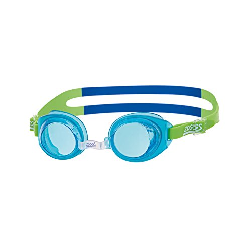 Zoggs Kinder Little Ripper Schwimmbrille, Aqua/Blue/Tint, One Size