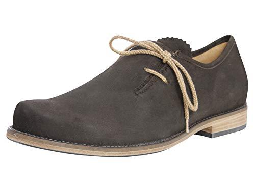 dirndl + bua Herren Trachten-Schuhe Haferlschuh Josef in Schwarz, Farbe:Schwarz, Inter. Schuhgrößen:9.5   44