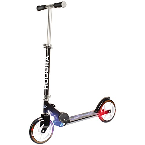 HUDORA Big Wheel Light 205 Scooter - Tret-Roller Leuchträder - 14599