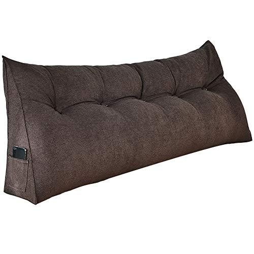 GUOWEI Bett Dreieck Kissen Keil Kopfkissen Sofa Rückenlehne Taille Unterstützung Lesen (Color :...