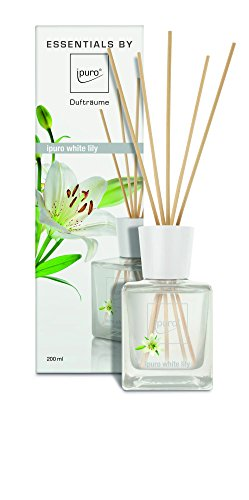 ipuro ESSENTIALS Raumduft white lily, 1er Pack (1 x 200 ml)