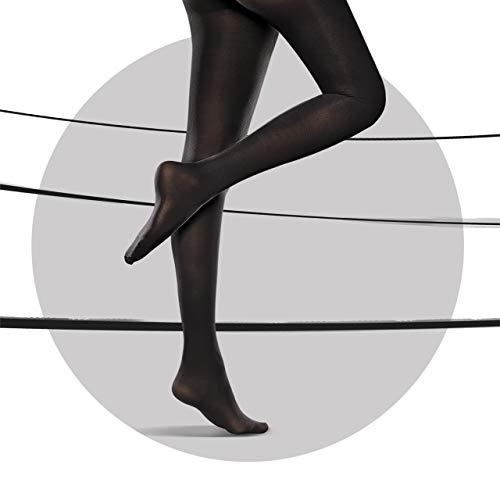 0c81b0a0892767 Scholl Light Legs Compression Tights for Women, 60 Denier, Black, Small