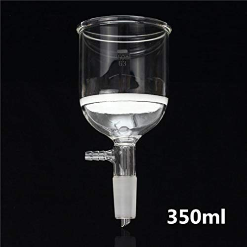 Yongse 350ml Joint 24/40 Filtertrichter Buchner Laborglas Borosilikatglas
