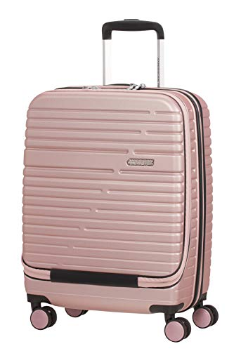 American Tourister Aero Racer, Valigetta per Spinner Piccolo, Frontloader, 55 cm, 38.5 L, Rose Pink (Rosa)