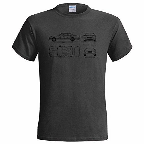 jaguar-daimler-blueprint-mens-t-shirt-classic-car-small34-36-charcoal