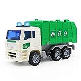Symiu Camion Poubelle Enfant Voiture Camion Benne Poubelle Recyclage Enfant Jouet pour Enfant Fille Garcon 3 4 5 Ans