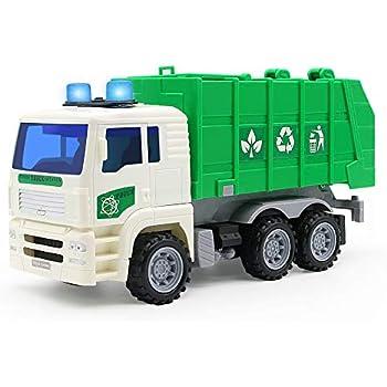 Symiu Camion Poubelle Enfant Voiture Camion Benne Poubelle