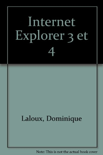 Internet Explorer 3 et 4