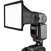 Neewer 15 x 12.5 cm Difusor Softbox linterna Speedlite para Canon 580EX II 600EX-RT, YongNuo YN560 III YN560 IV, Nikon SB-900 SB-910, Neewer TT560 TT520 TT660 y otro flash réflex digitales