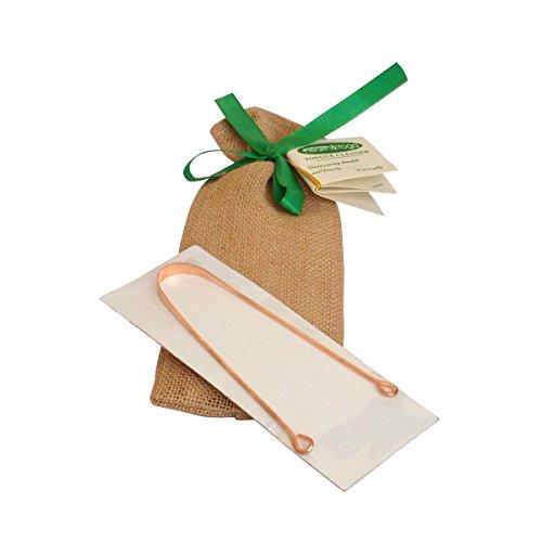 Kupfer Zungenreiniger - Exquisit Gift Wrapped