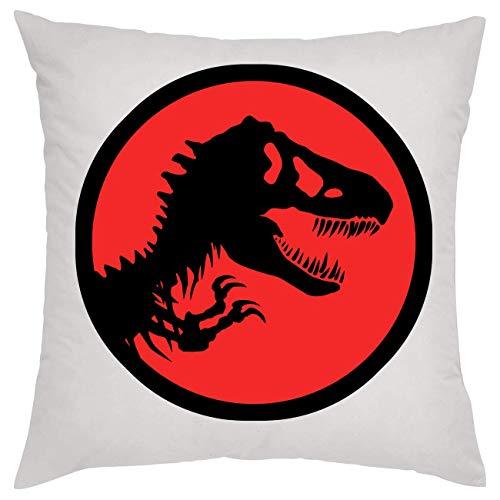 Jurassic Park Dinosaur Red Kissen Pillow
