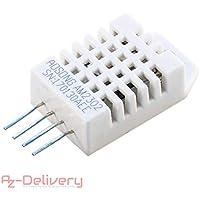 AZDelivery ⭐⭐⭐⭐⭐ DHT22 / AM2302 Sensor de Temperatura y Humedad para Arduino y Raspberry Pi