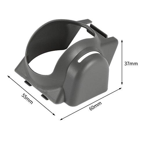Preisvergleich Produktbild Kismaple MAVIC PRO Sonnenschutz Blendung Kameraobjektiv Haube Fall Cap Für DJI Mavic Pro Drone Kamera Objektivdeckel (Grau)