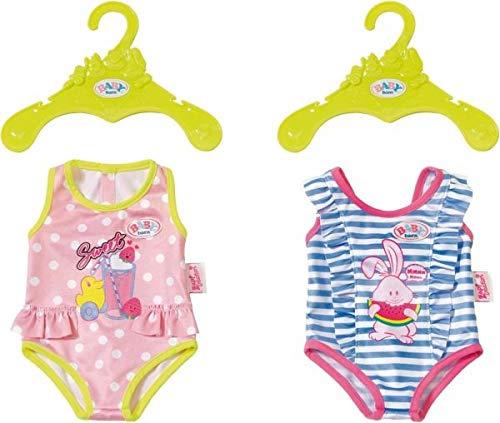 Zapf Baby Born Swimsuits Collection Ropa de baño de muñeca - Accesorios para muñecas (Ropa de baño de muñeca, 3 año(s),, 43 cm, Chica, 43 cm)