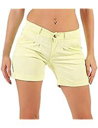 b21e008ace6 Ladies Shorts Large Sizes Fashion Women Casual Solid Pocket Pleated Zipper  Button Hot Pants Trouser Outsizes