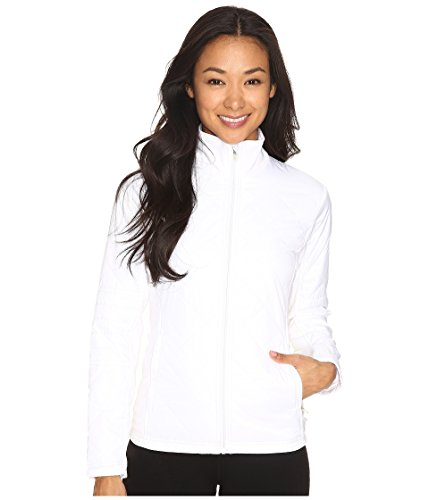 ASICS Damen Thermo Windblocker Jacke, Damen, Real White, Medium Knit Wind Jacke
