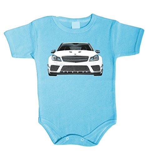 Baby Body inspiriert von Future Mercedes Driver C63 AMG DTM Babykleidung Strampler Unterwäsche Geschenk (74 (6-12 m), - 10m Yamaha