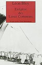 Exégèse des Lieux Communs