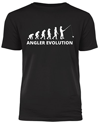 Angler Evolution - Angler T-Shirt - ideal ALS Geschenk (XL)