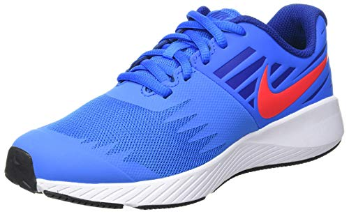Nike Star Runner (GS), Scarpe da Running Bambini e Ragazzi, Blu (Photo Blue/Red Orbit/Indigo Force/Black 408), 40 EU