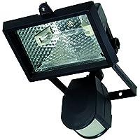 Profile 42000154 Carre Proyector halógeno con detector de movimiento (Metal Negro