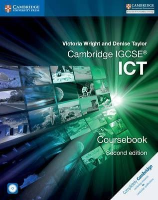 Cambridge IGCSE?? ICT Coursebook with CD-ROM (Cambridge International Examinations) by Victoria Wright (2016-07-07)