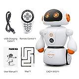 Intelligente Cady Wigi JJRC R6 Fernbedienung Programmierbare Tanzen USB RC Roboter frühes pädagogisches Spielzeug für Kinder