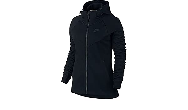 bd307edb69d2d Nike W NSW TCH FLC Hoodie FZ Sweat-Shirt pour Femme Femme