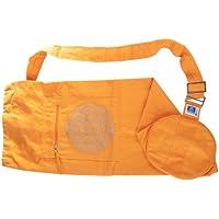 Berk YO-15-OR Meditations-Zubehör - Yoga Tasche mit Blume von Lebens, orange preisvergleich bei billige-tabletten.eu
