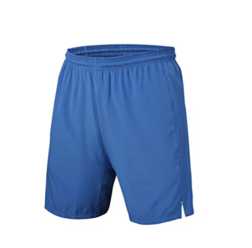 Mens Running Breathable Shorts Light Blue