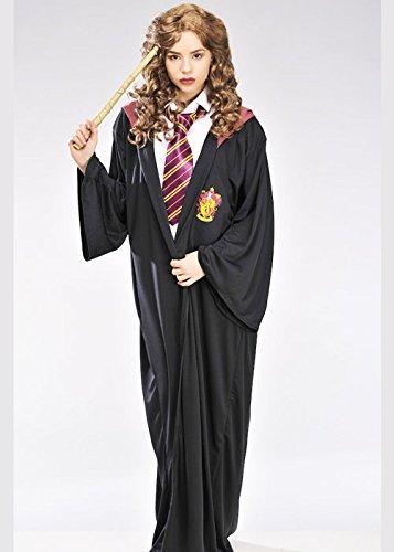 Erwachsene Hermine Granger Style Gryffindor (Robe Hermine Granger)